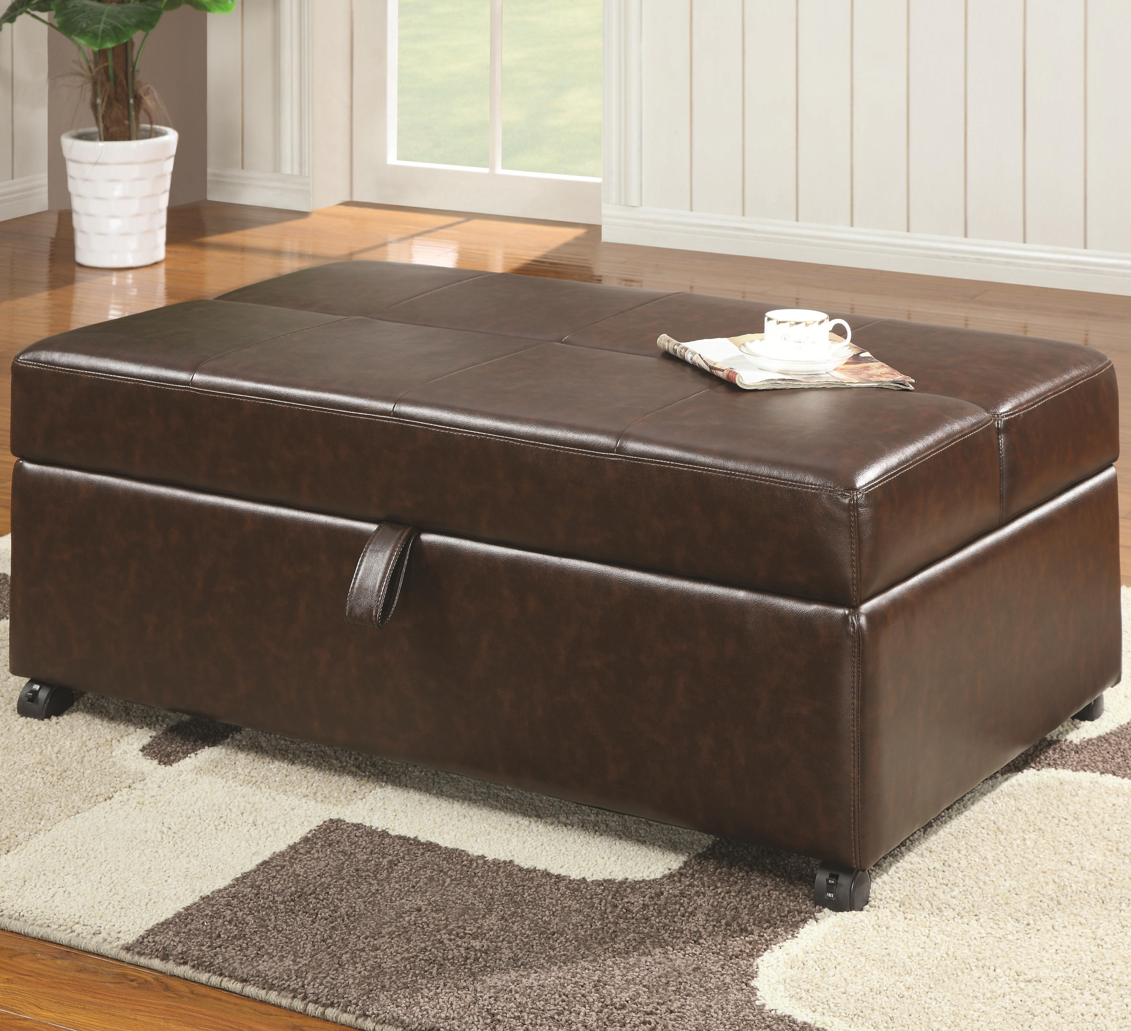 Benches Bench with Sleeper by Coaster at Lapeer Furniture & Mattress Center
