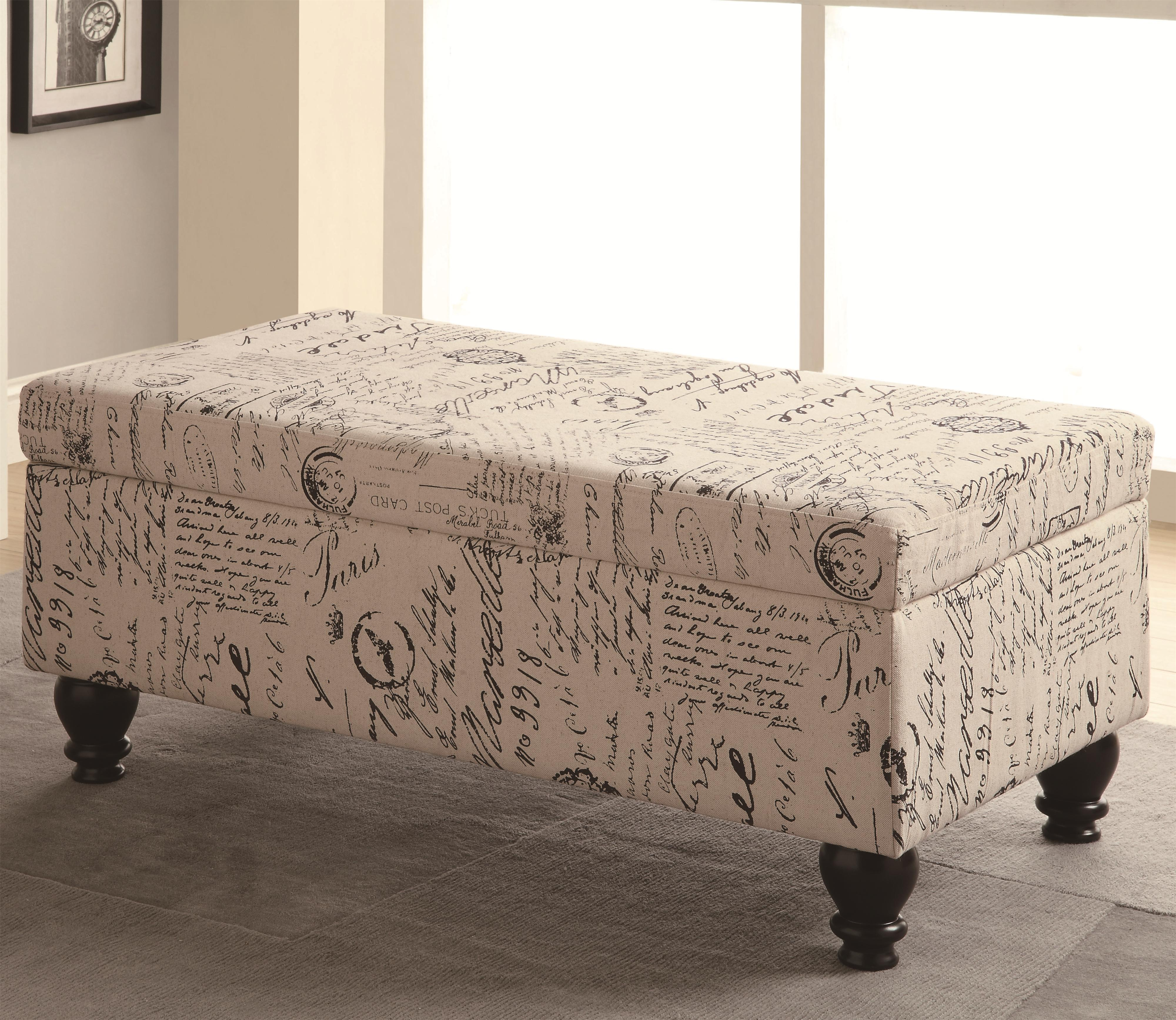 Benches Storage Bench by Coaster at Lapeer Furniture & Mattress Center