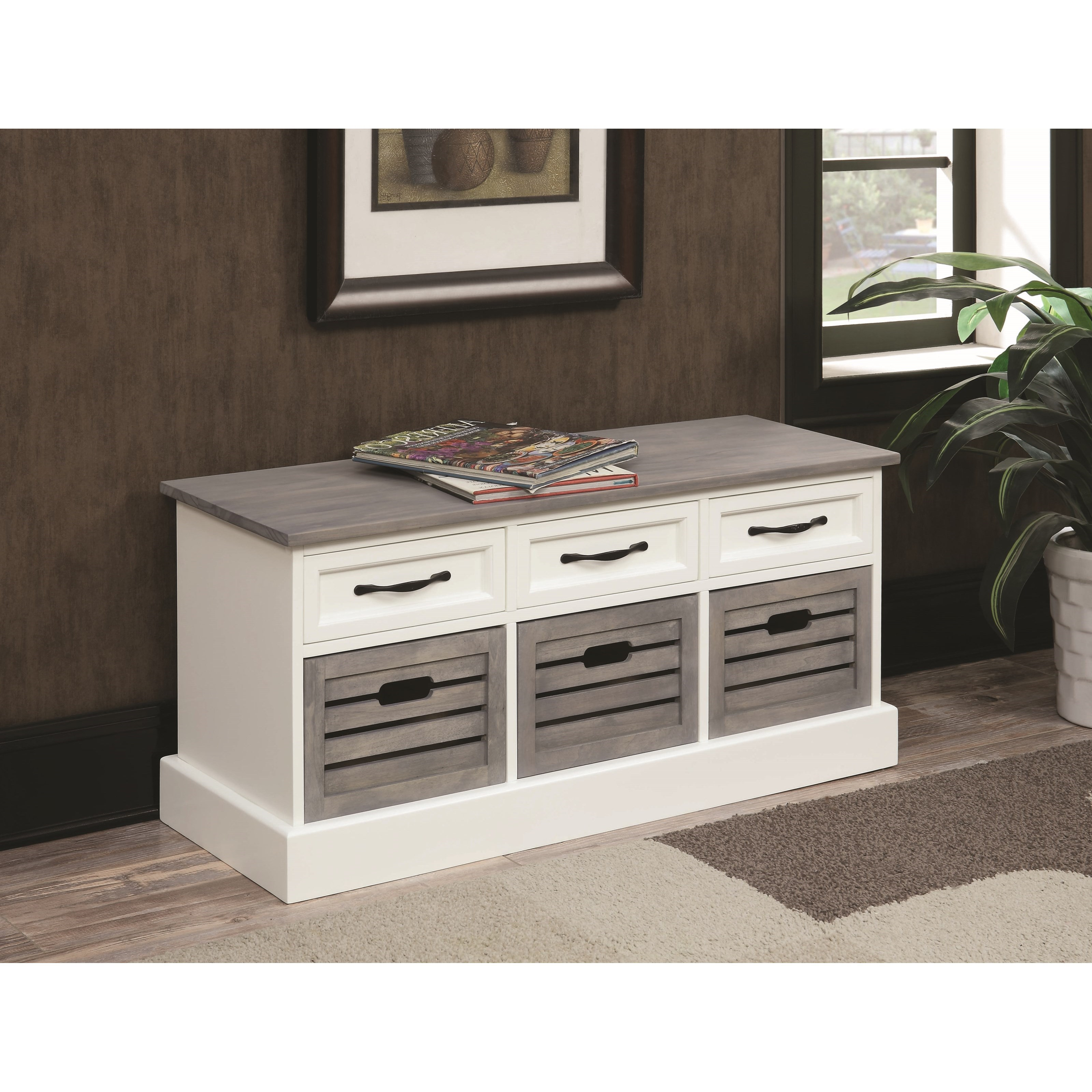 Benches Storage Bench by Coaster at Rife's Home Furniture