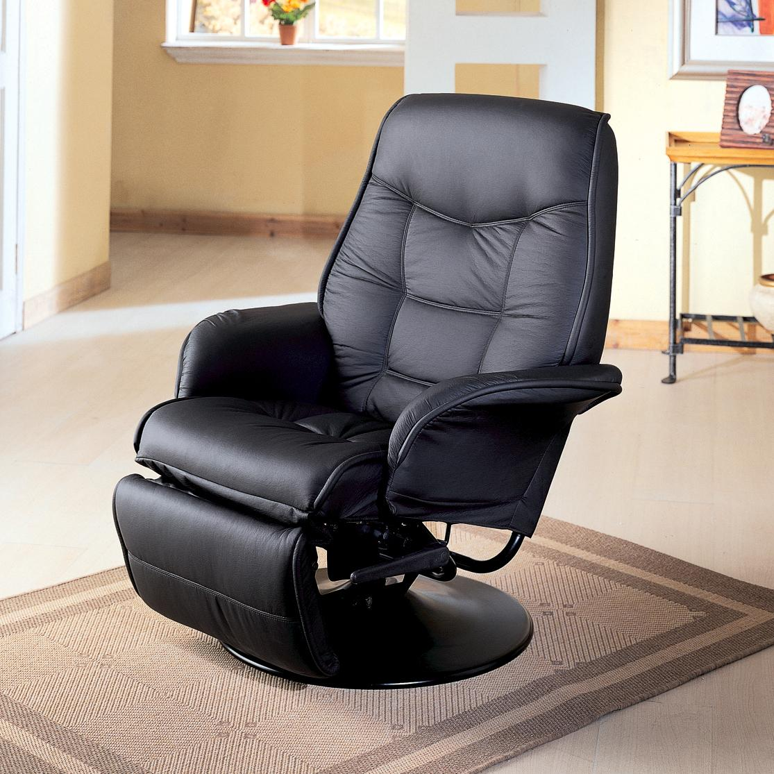 Berri Swivel Recliner by Coaster at Beds N Stuff