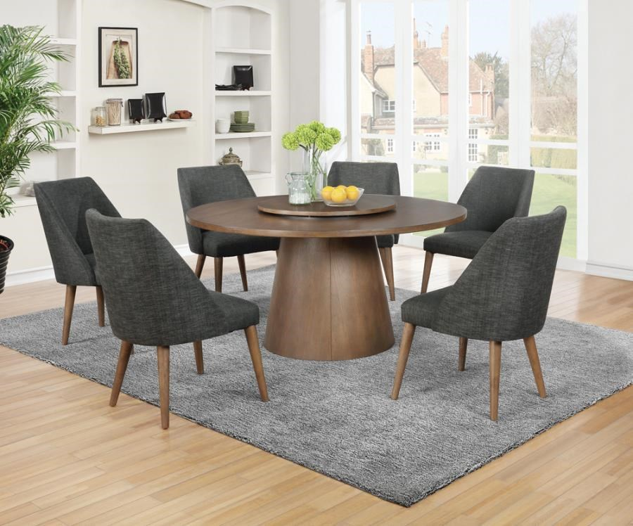 Beverly 5-Piece Round Dining Set by Coaster at Beck's Furniture