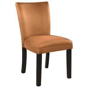 Microfiber Parson Side Chair