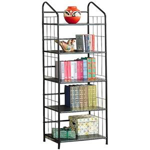 Casual Metal Bookcase