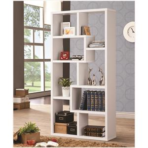 Coaster Bookcases Bookcase, White