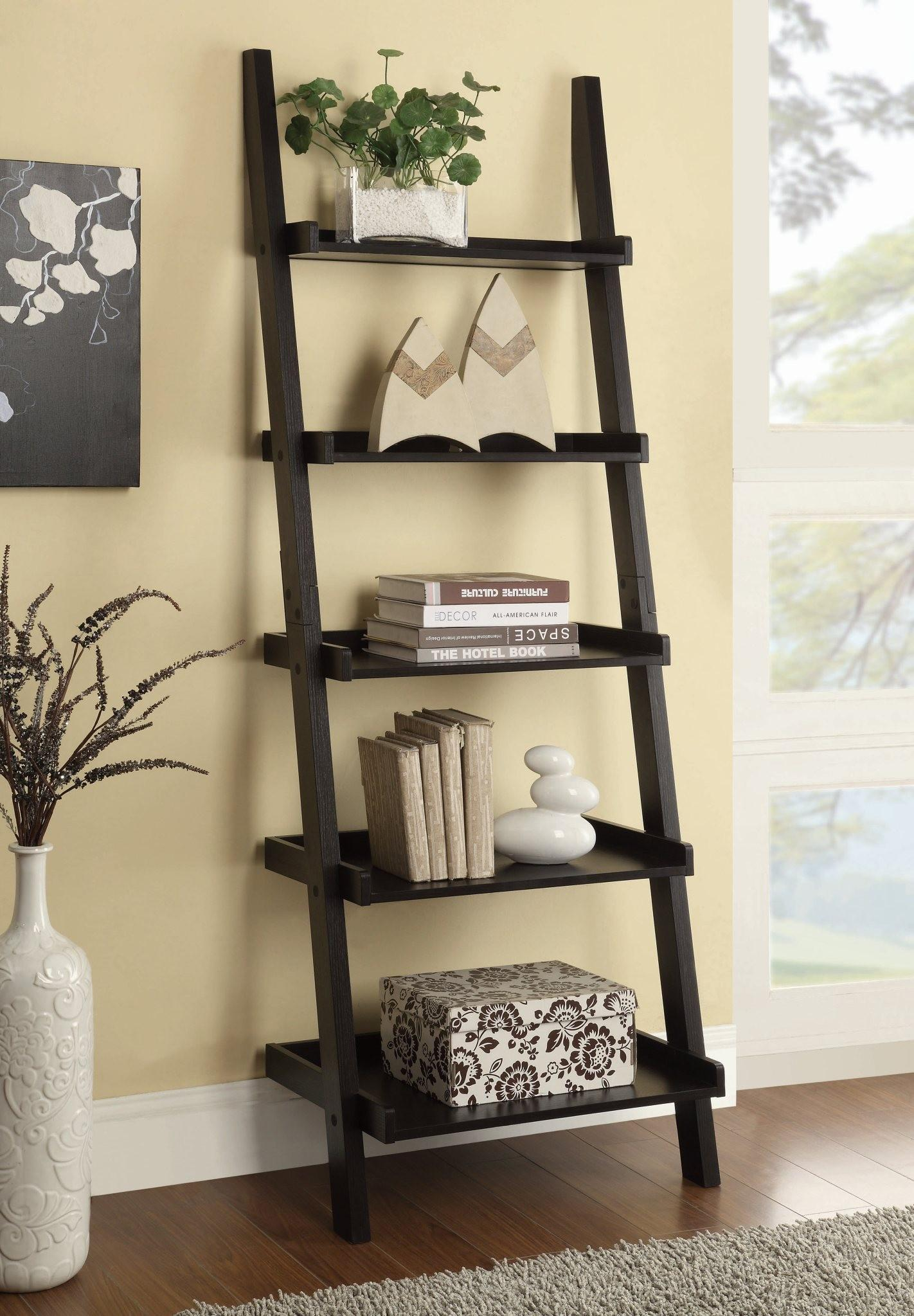 Bookcases Ladder Bookcase by Coaster at Northeast Factory Direct