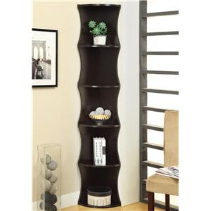 Coaster Bookcases Corner Shelf