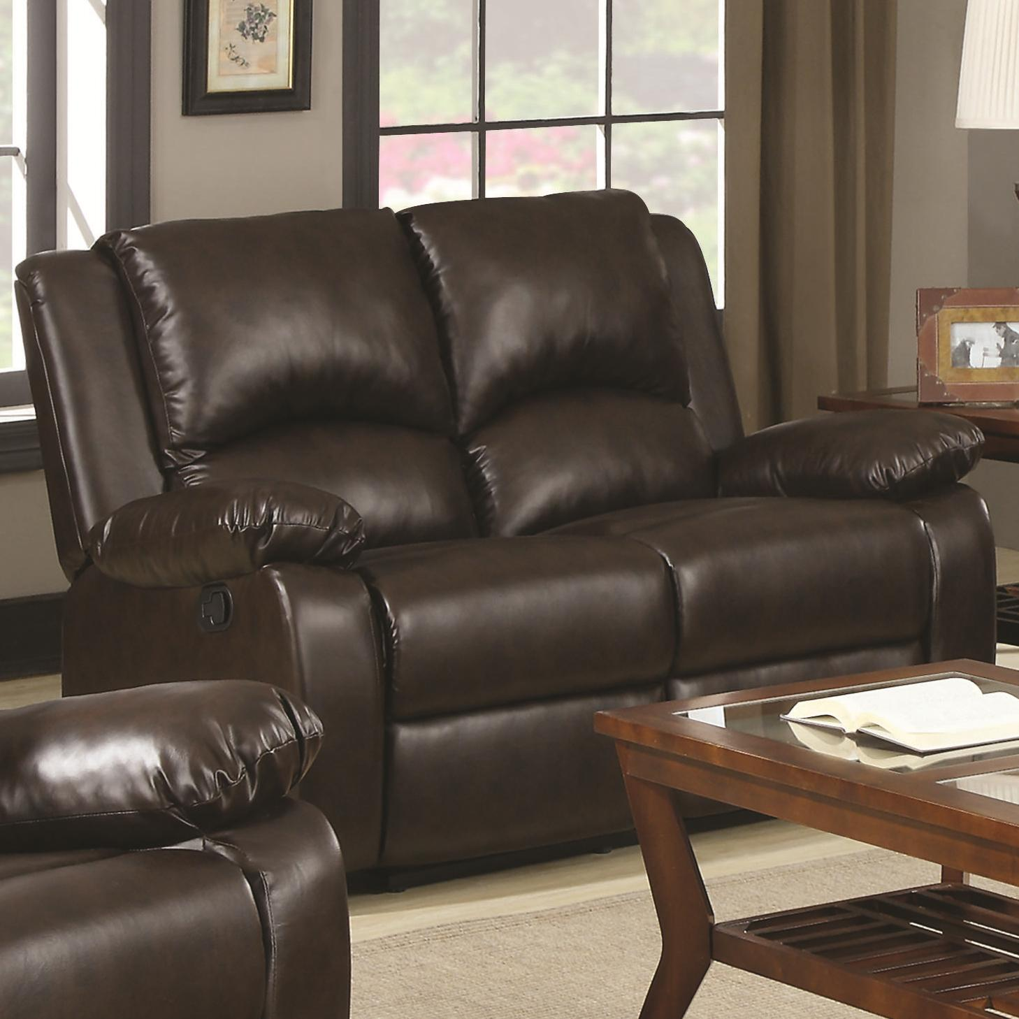 Boston Double Reclining Love Seat by Coaster at Northeast Factory Direct