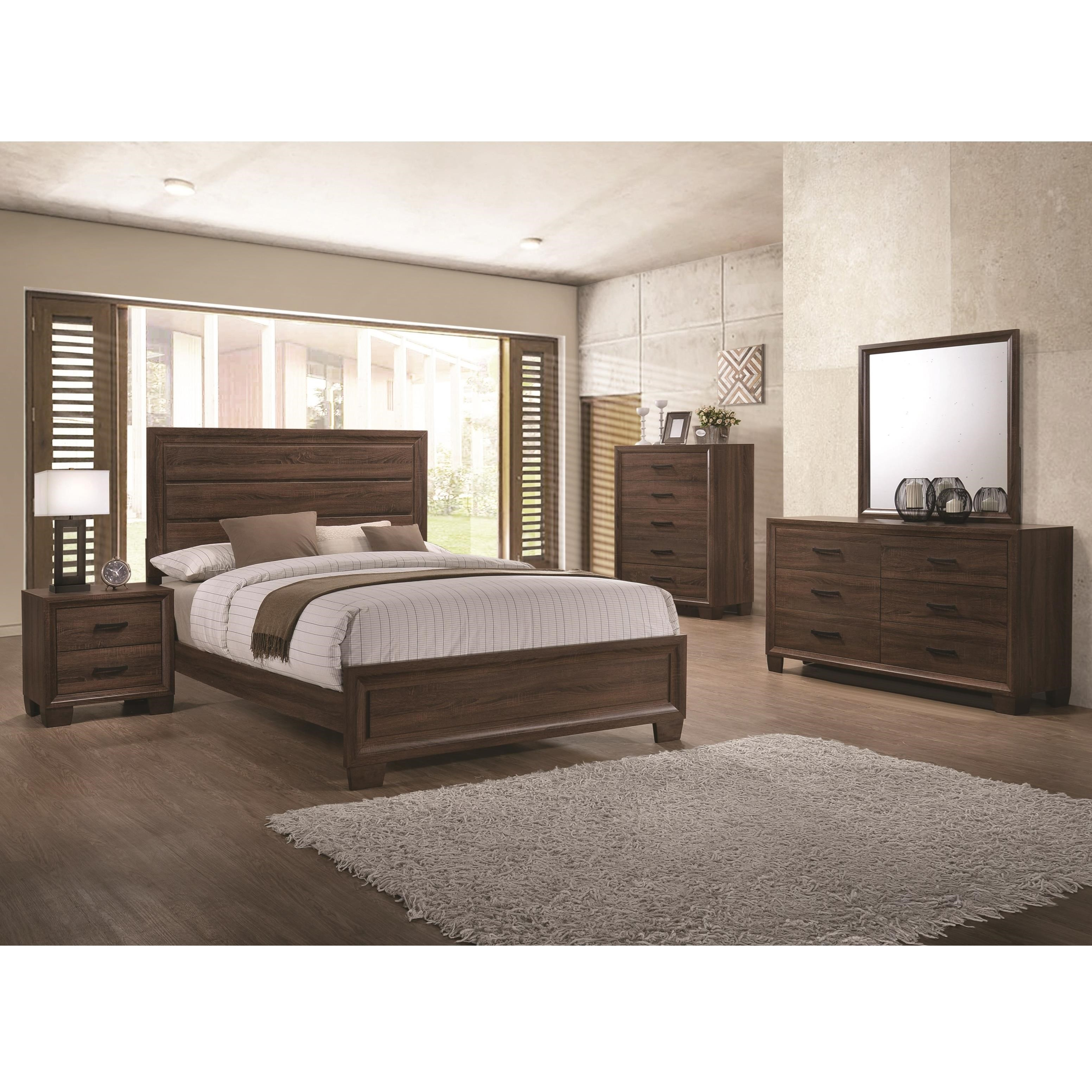 Brandon King Bedroom Group by Coaster at Northeast Factory Direct