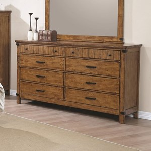 8 Drawer Dresser with Felt Lined Drawers