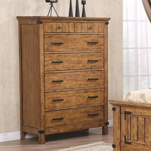 7 Drawer Chest with Felt Lined Drawers