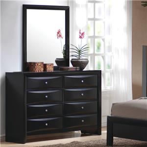 Coaster Briana Dresser and Mirror