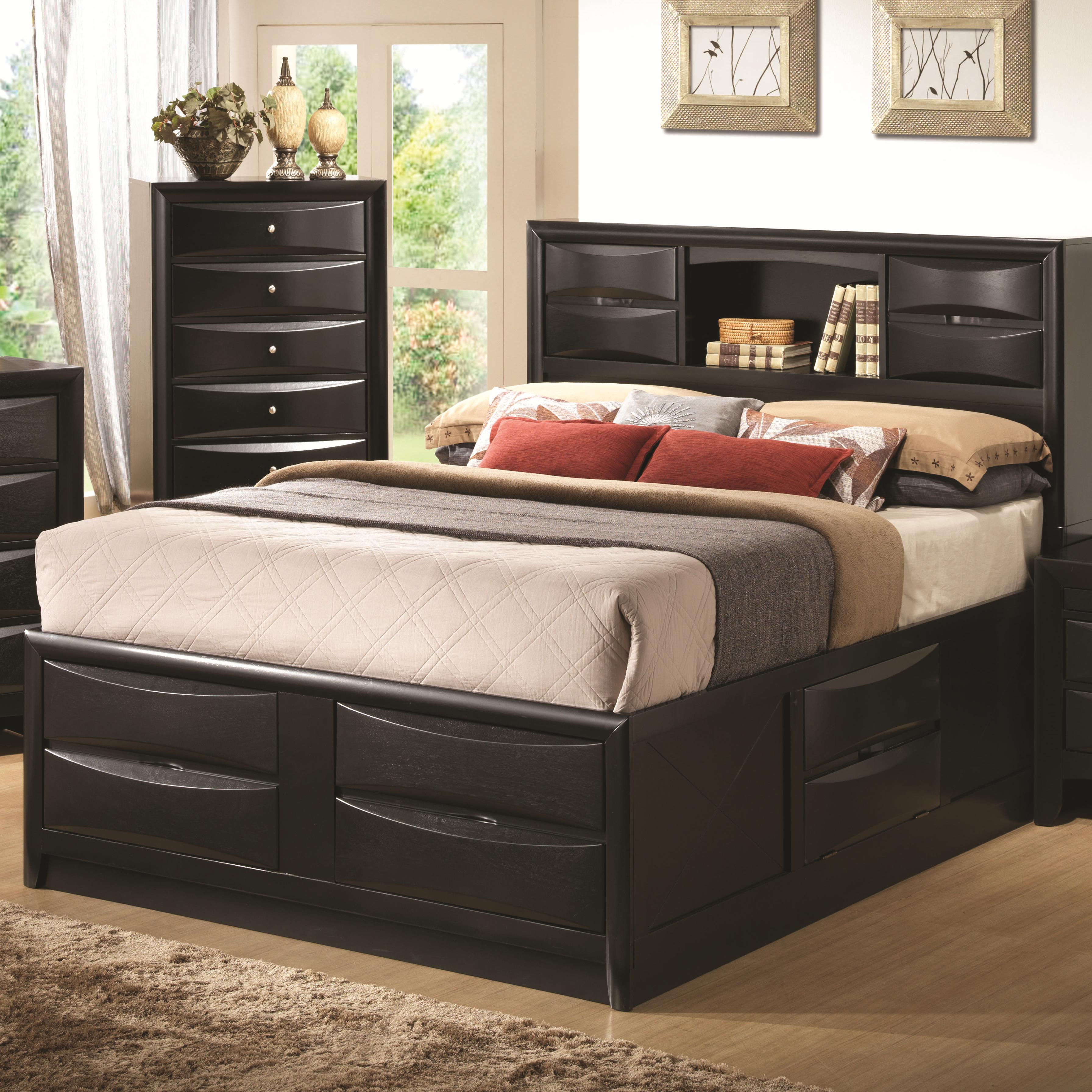 Briana Queen Storage Bed by Coaster at Northeast Factory Direct