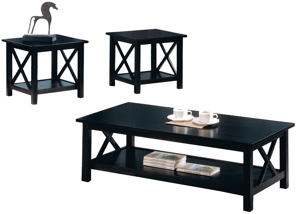Briarcliff 3 Piece Table Set by Coaster at Northeast Factory Direct