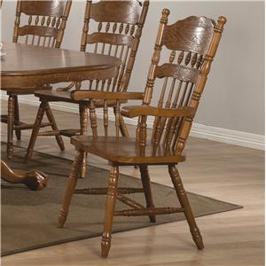 Coaster Brooks Arm Chair