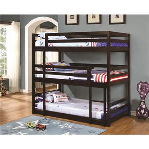 Triple Layer Bunk Bed