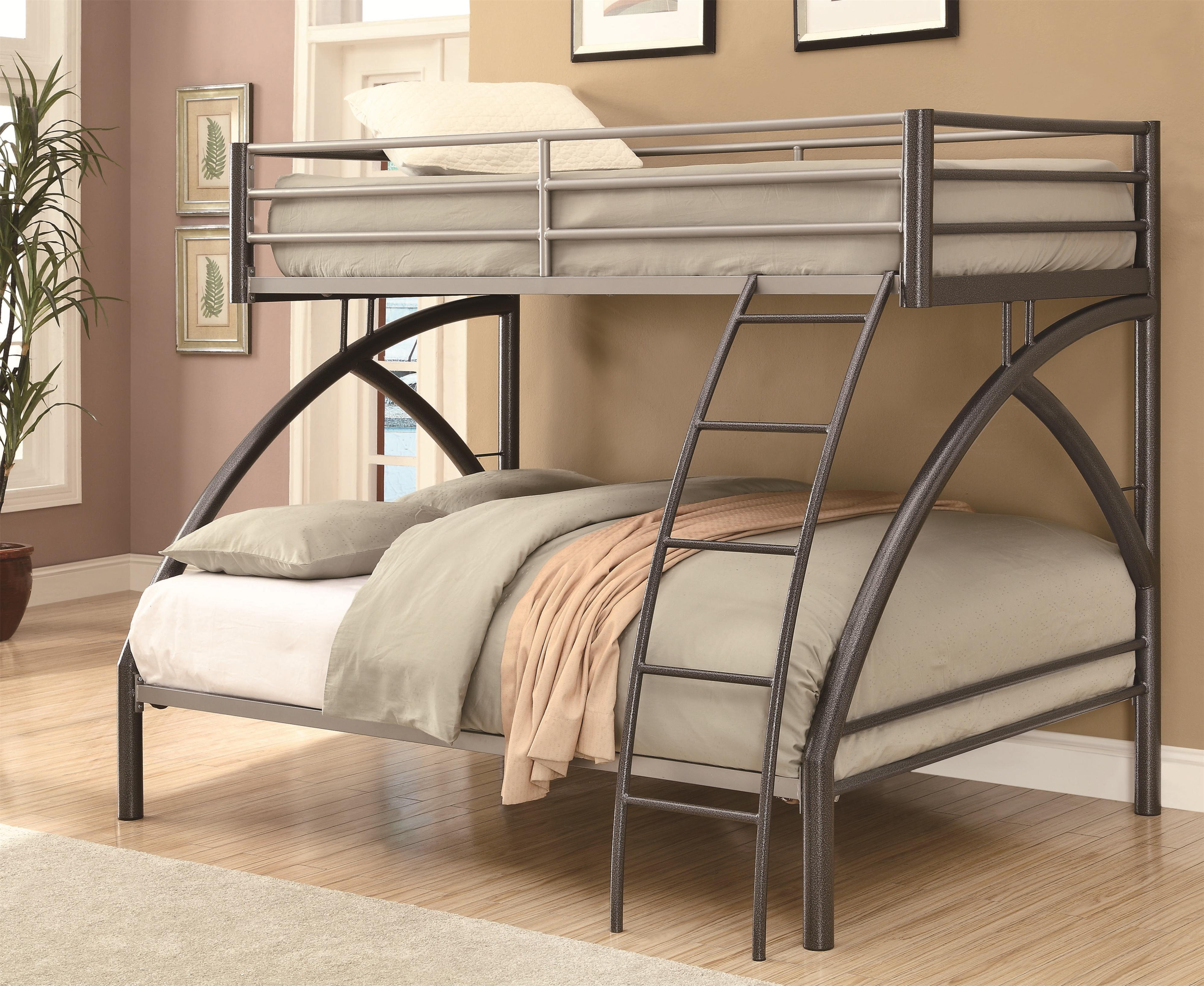 Bunks Twin/Full Bunk Bed by Coaster at Northeast Factory Direct