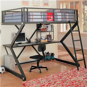 Workstation Full Loft Bed