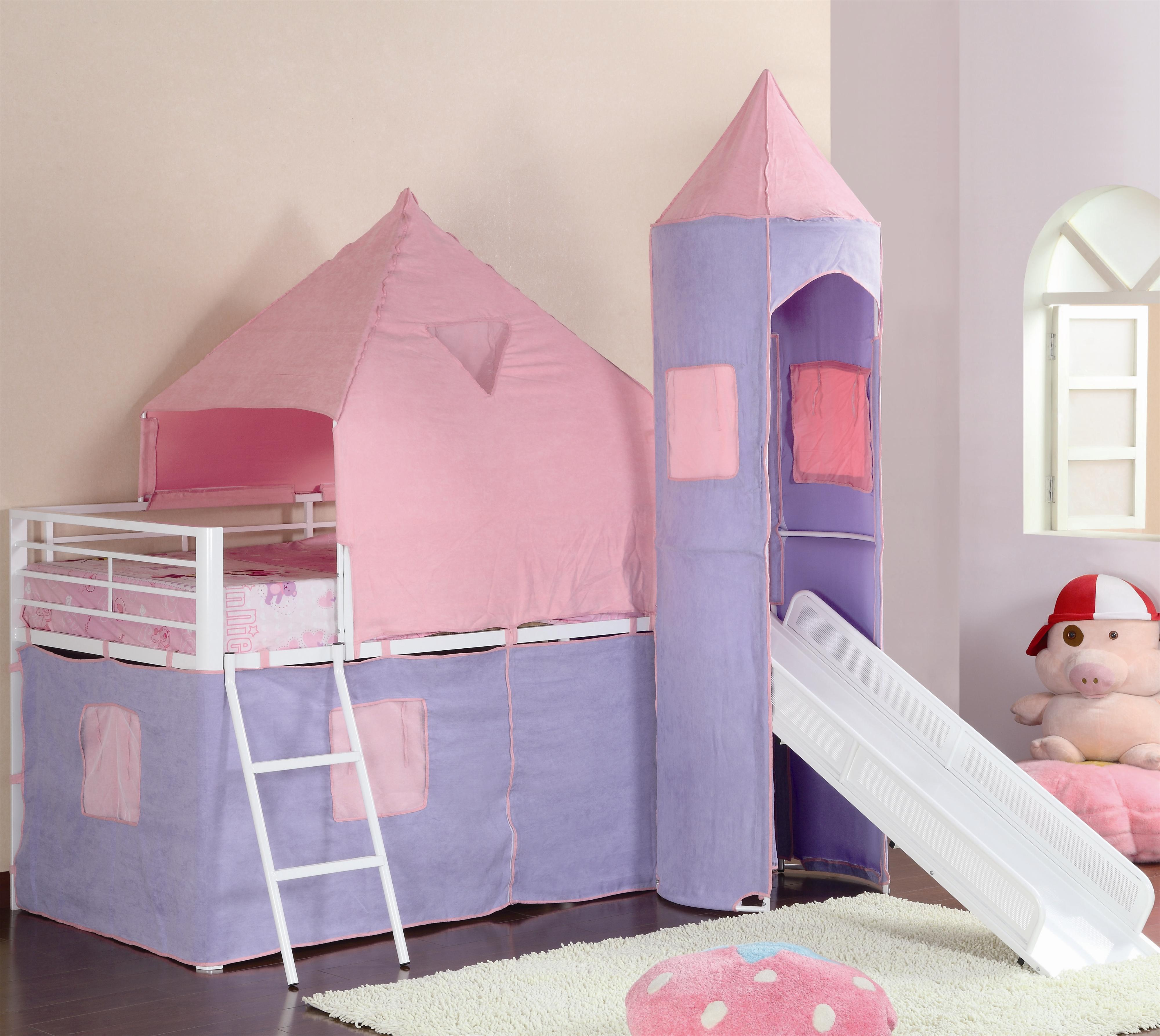 Bunks Twin Loft Bed by Coaster at A1 Furniture & Mattress