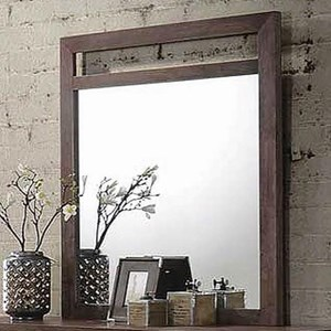 Transitional Dresser Mirror