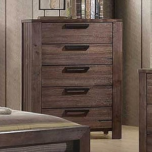 Transitional 5 Drawer Chest of Drawers