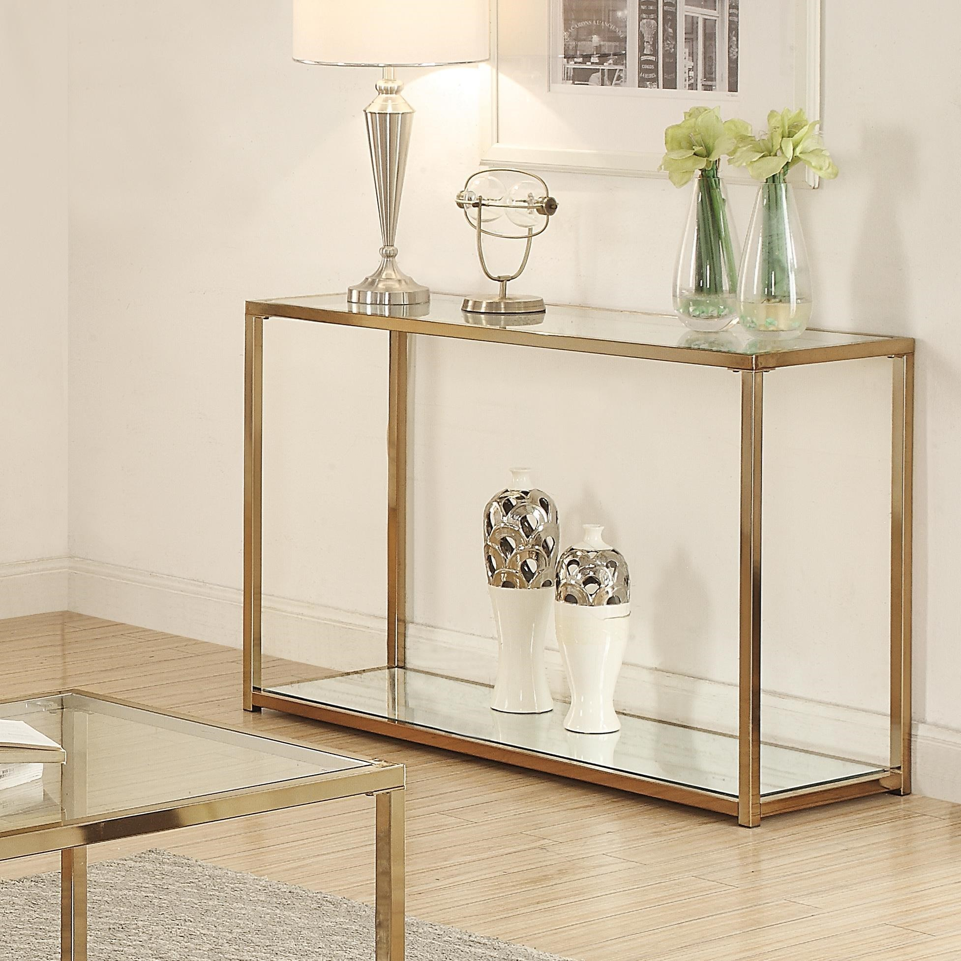 Calantha Sofa Table by Coaster at Lapeer Furniture & Mattress Center