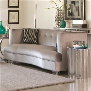 Loveseat with Contemporary Style
