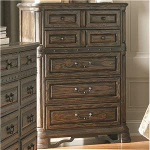 Chest of Drawers with 7 Drawers