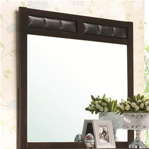 Dresser Mirror with Upholstered Frame