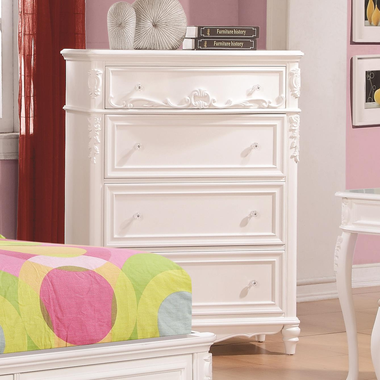 Caroline Chest by Coaster at Standard Furniture