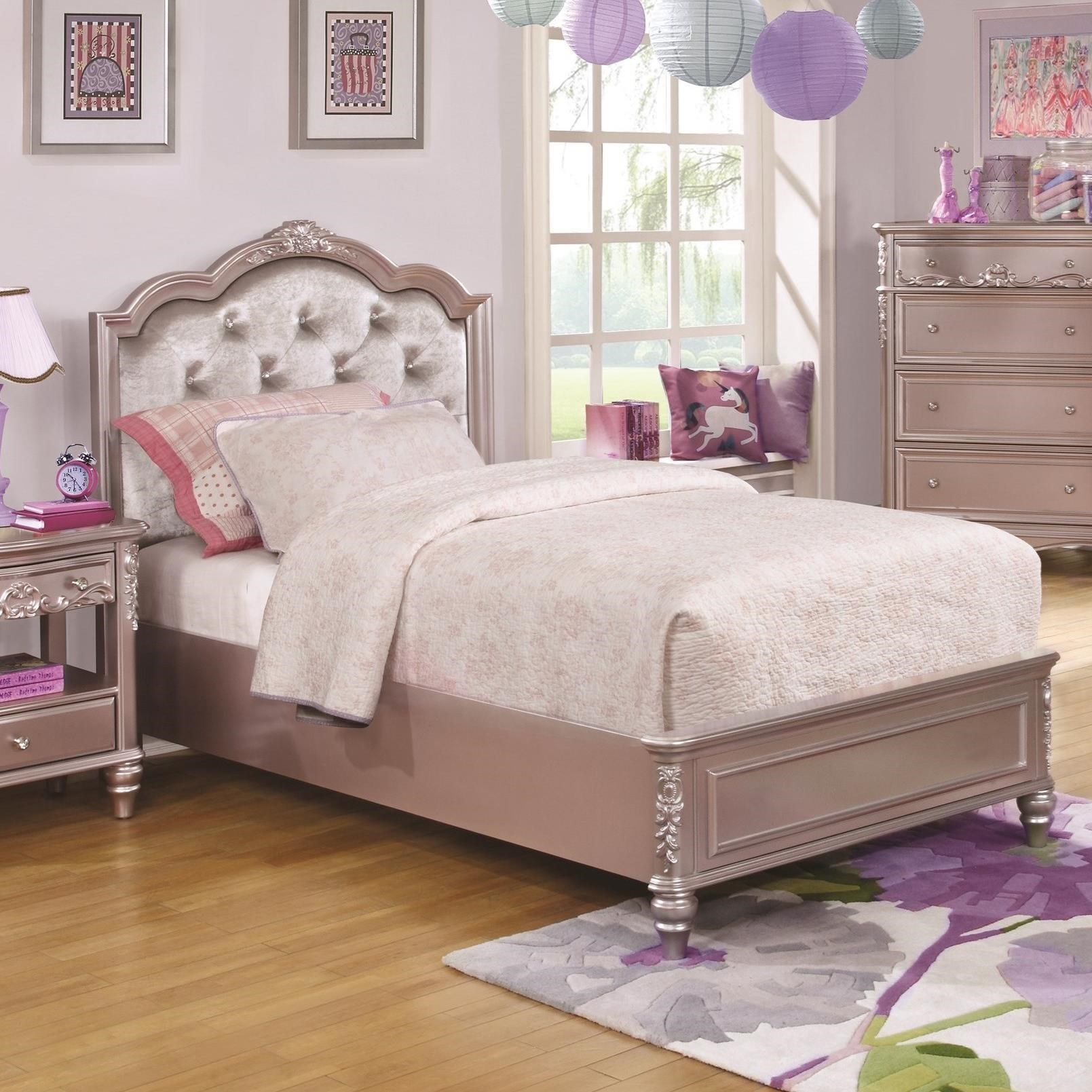 Caroline Twin Size Bed by Coaster at Northeast Factory Direct