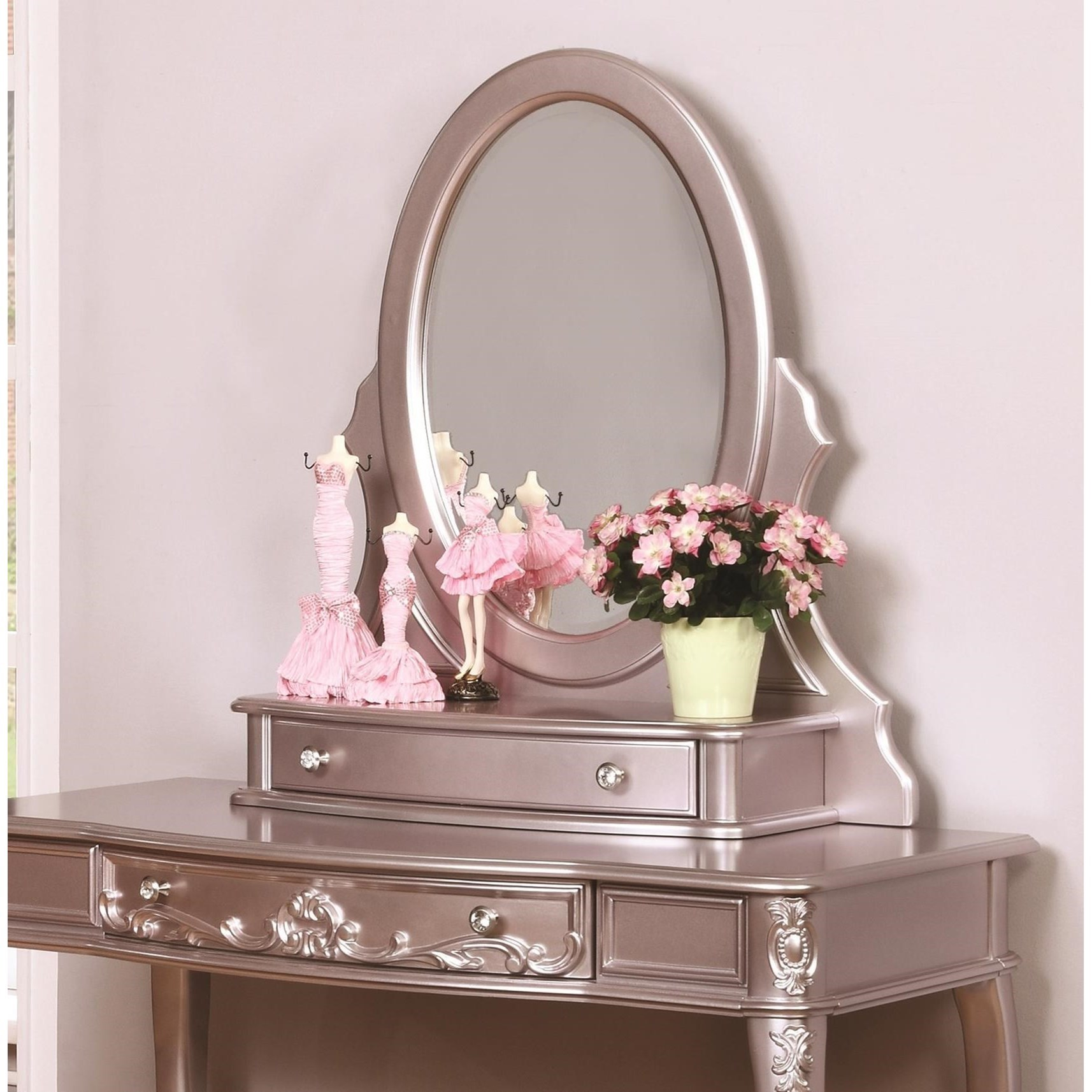 Caroline Vanity Mirror by Coaster at Standard Furniture