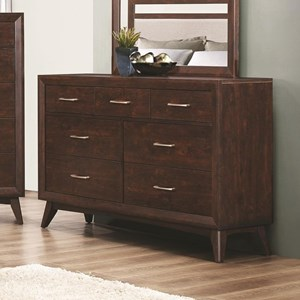Dresser with Seven Dovetail Drawers
