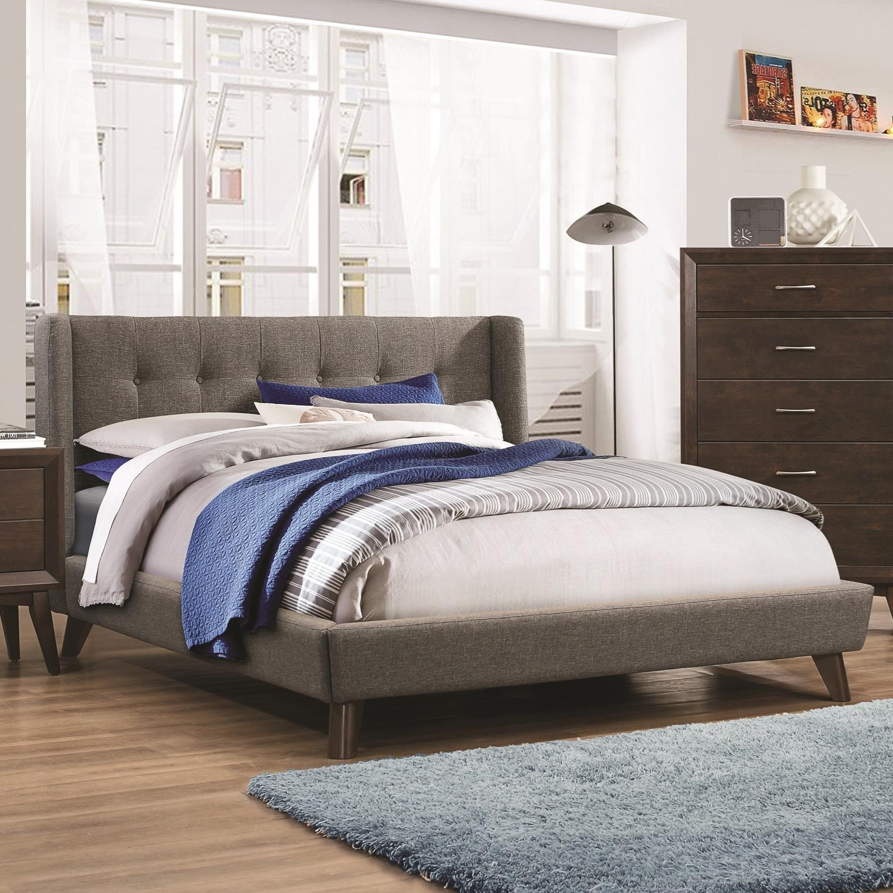 Carrington King Bed by Coaster at Northeast Factory Direct