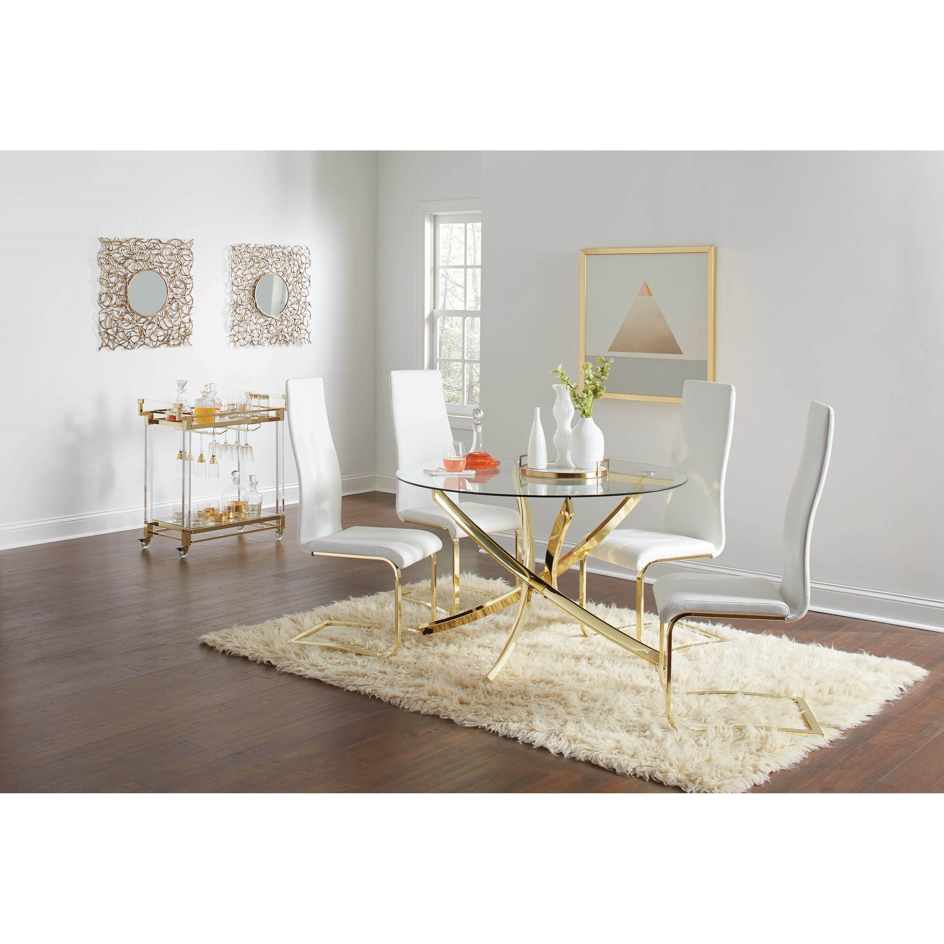 Chanel Casual Dining Room Group by Coaster at Rife's Home Furniture