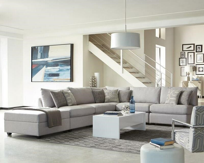 Charlotte 6-Piece Modular Sectional by Coaster at Beck's Furniture