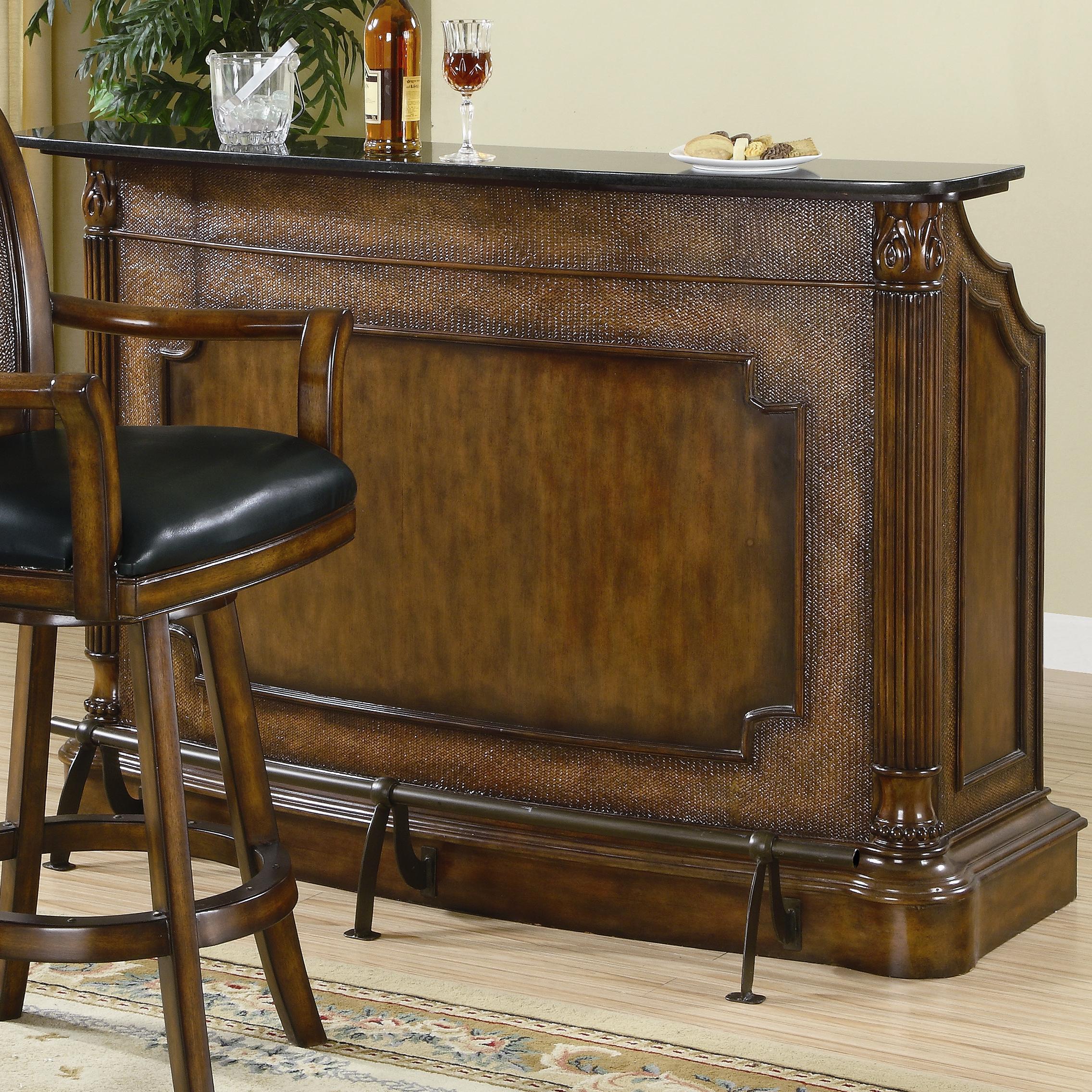 Clarendon Bar Unit by Coaster at Lapeer Furniture & Mattress Center