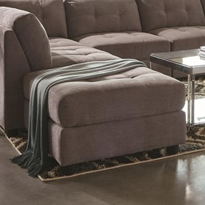 Contemporary Two Tone Ottoman