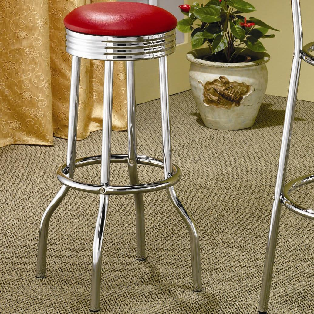 Cleveland Soda Fountain Bar Stool by Coaster at Rife's Home Furniture