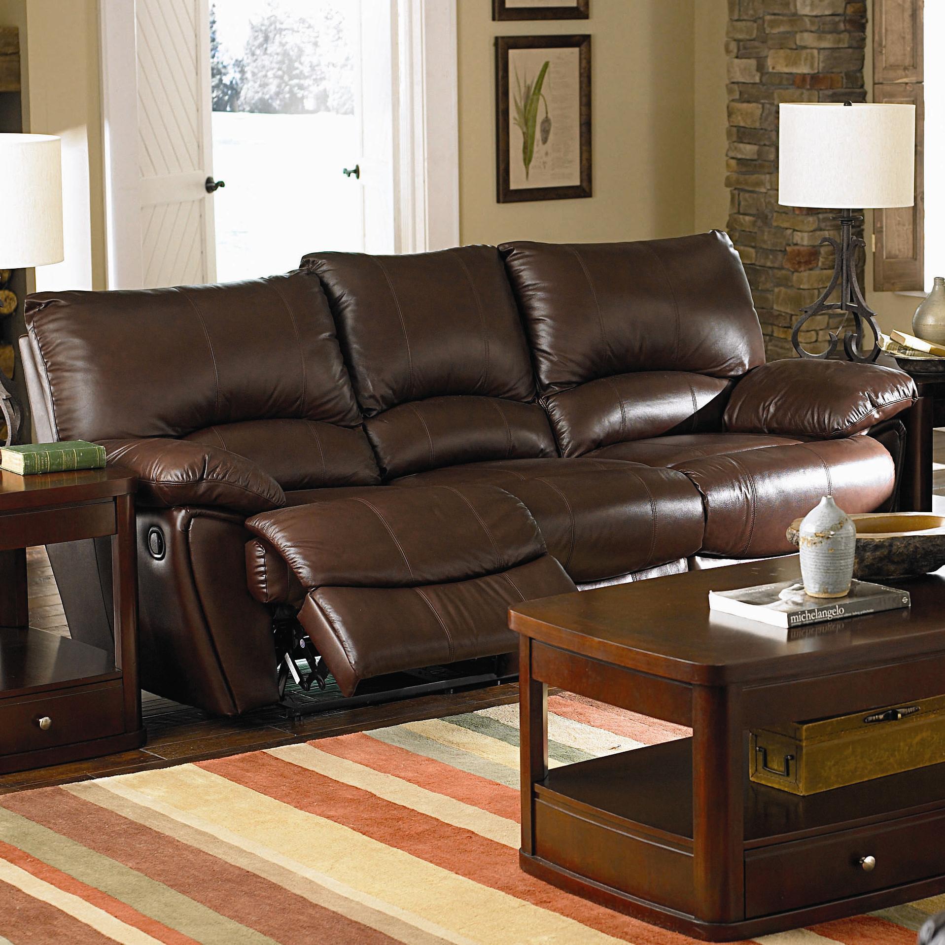 Clifford Dual Reclining Sofa by Coaster at Lapeer Furniture & Mattress Center