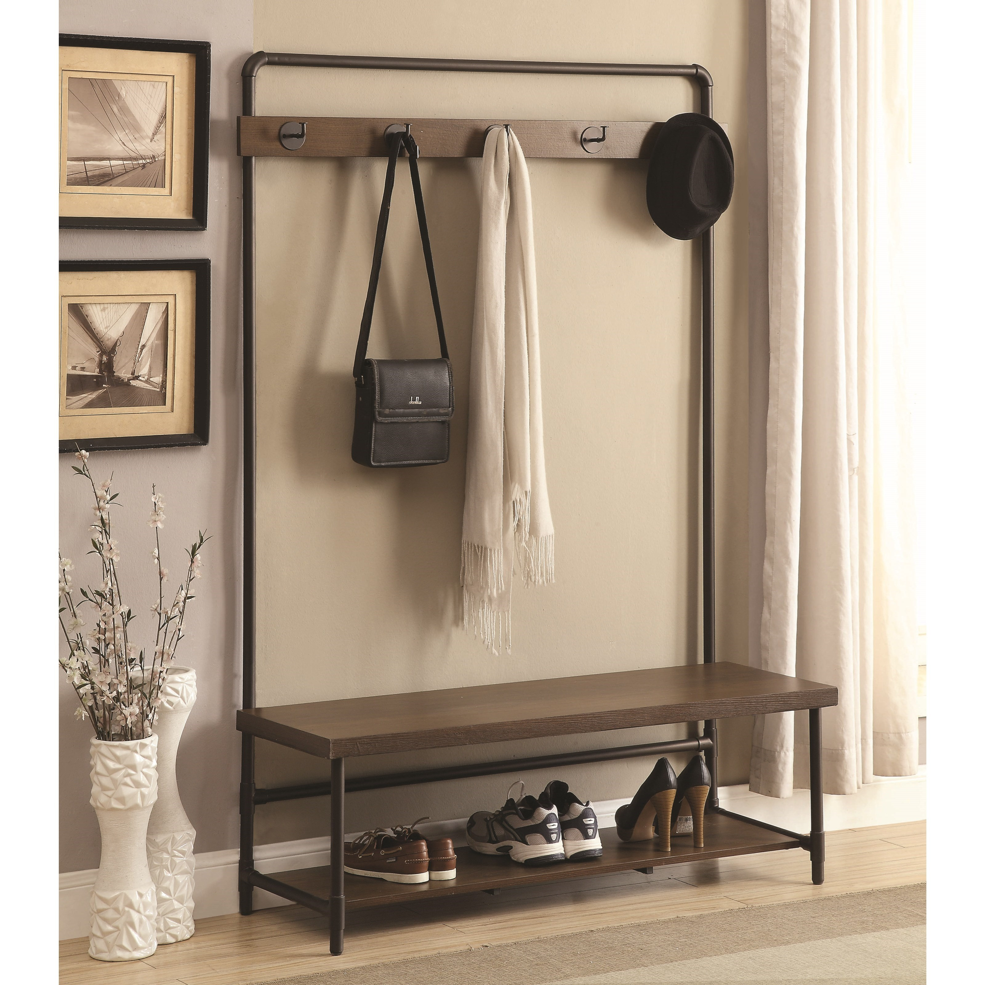 Coat Racks Hall Tree by Coaster at Northeast Factory Direct