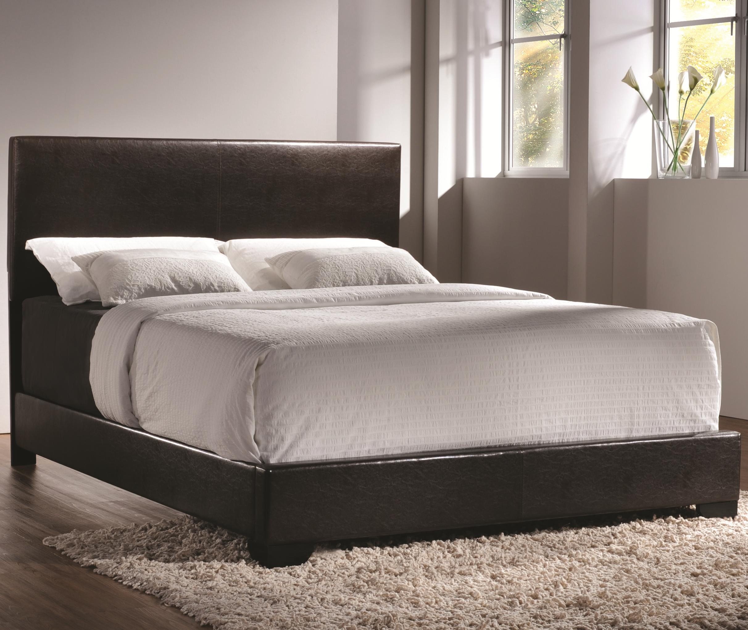Conner Queen Upholstered Bed by Coaster at Northeast Factory Direct