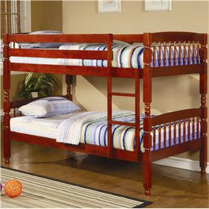 Coaster Coral Twin Bunk Bed