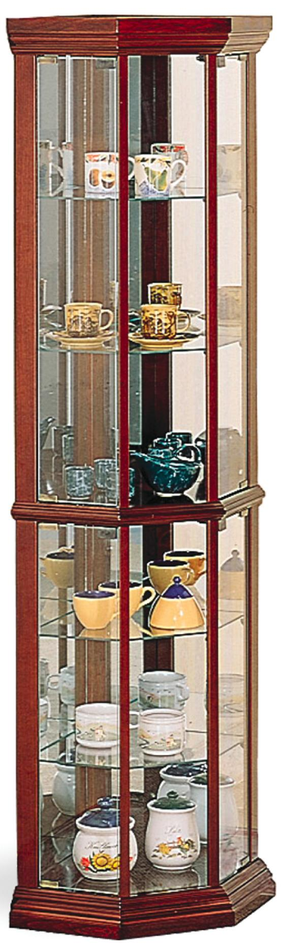 Curio Cabinets Curio Cabinet by Coaster at Northeast Factory Direct