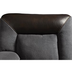Plush Two-Tone Sectional