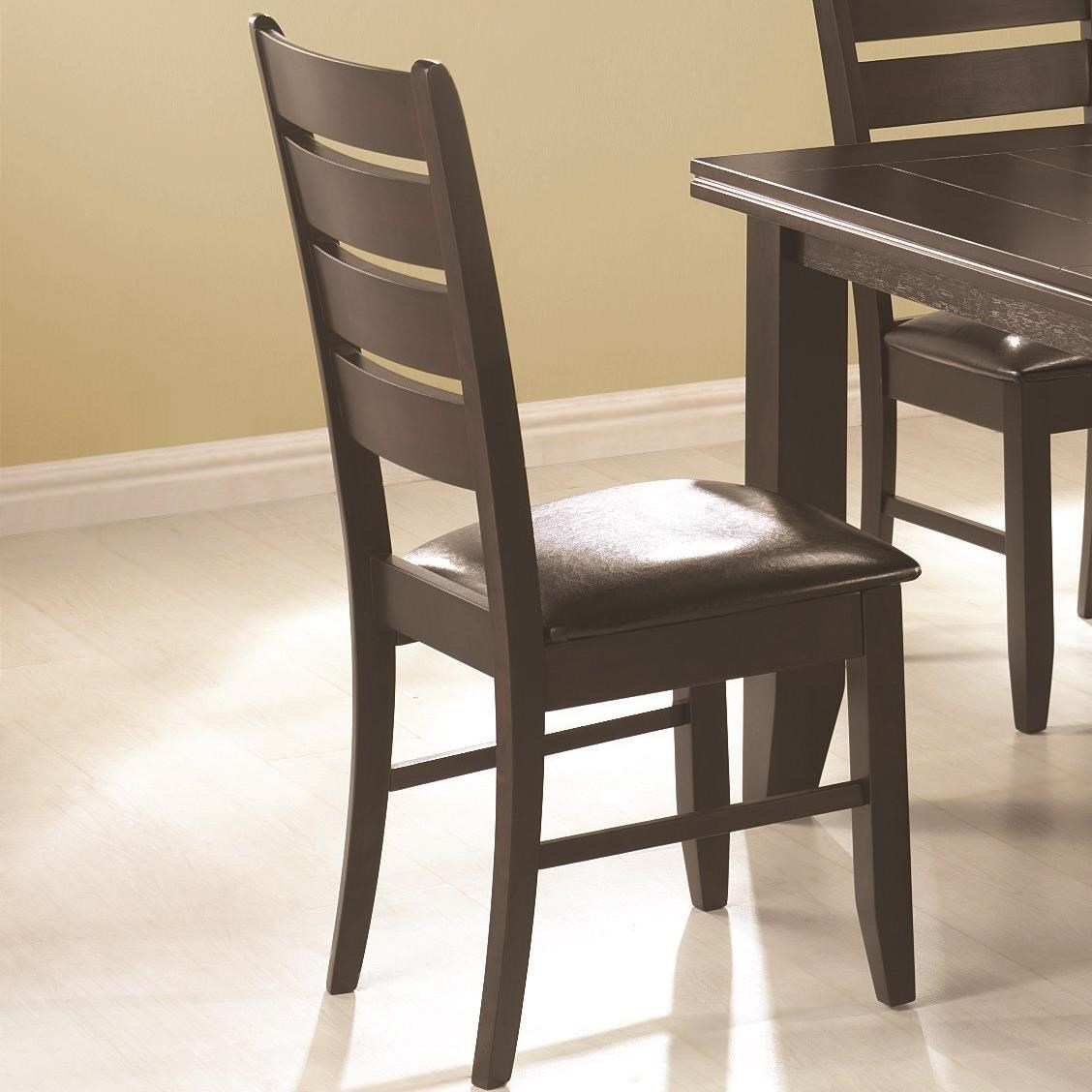 Dalila Side Chair by Coaster at Lapeer Furniture & Mattress Center