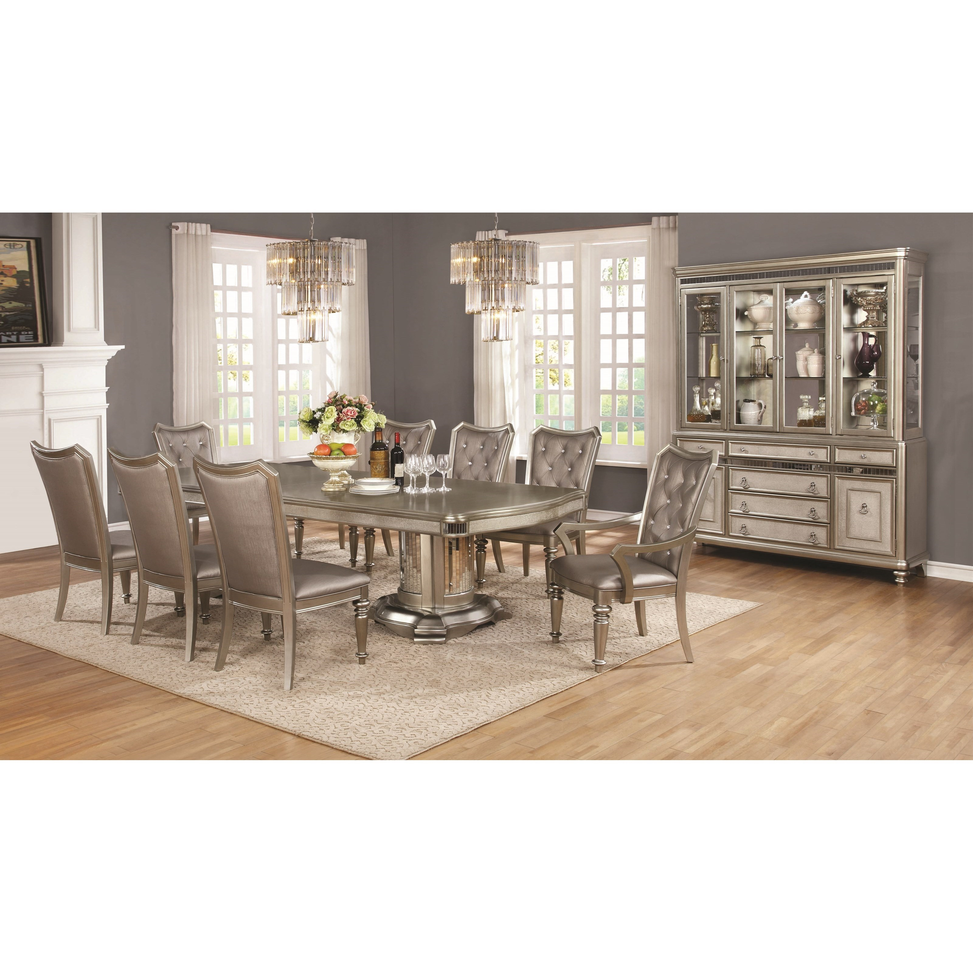 Danette Formal Dining Room Group by Coaster at Lapeer Furniture & Mattress Center
