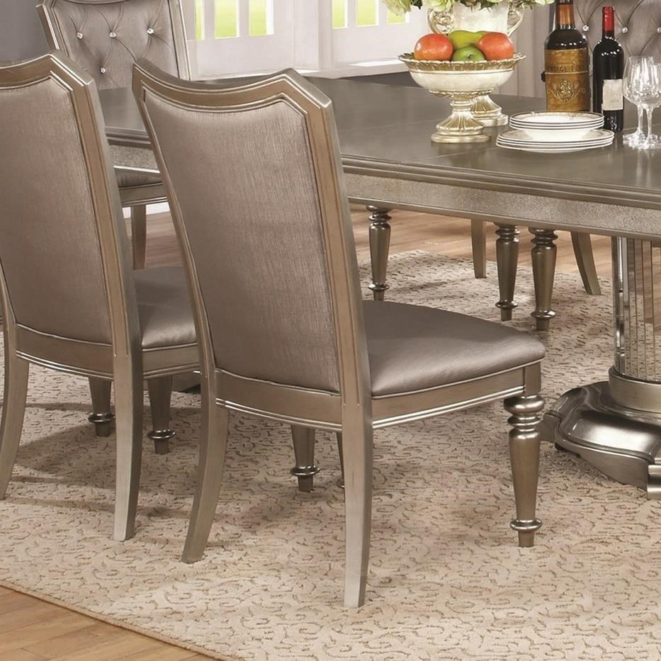 Danette Upholstered Side Chair by Coaster at Lapeer Furniture & Mattress Center
