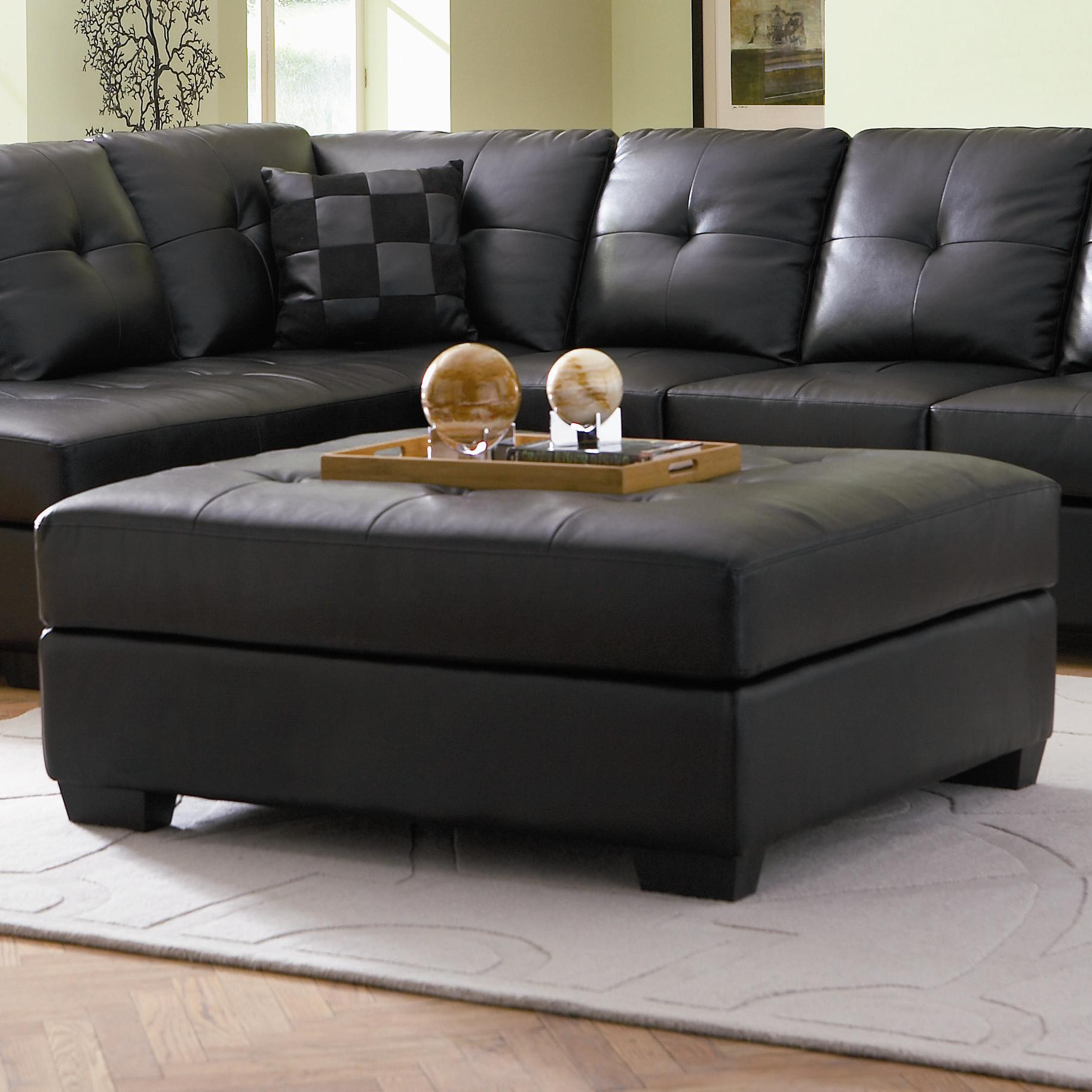 Darie Cocktail Ottoman by Coaster at Suburban Furniture