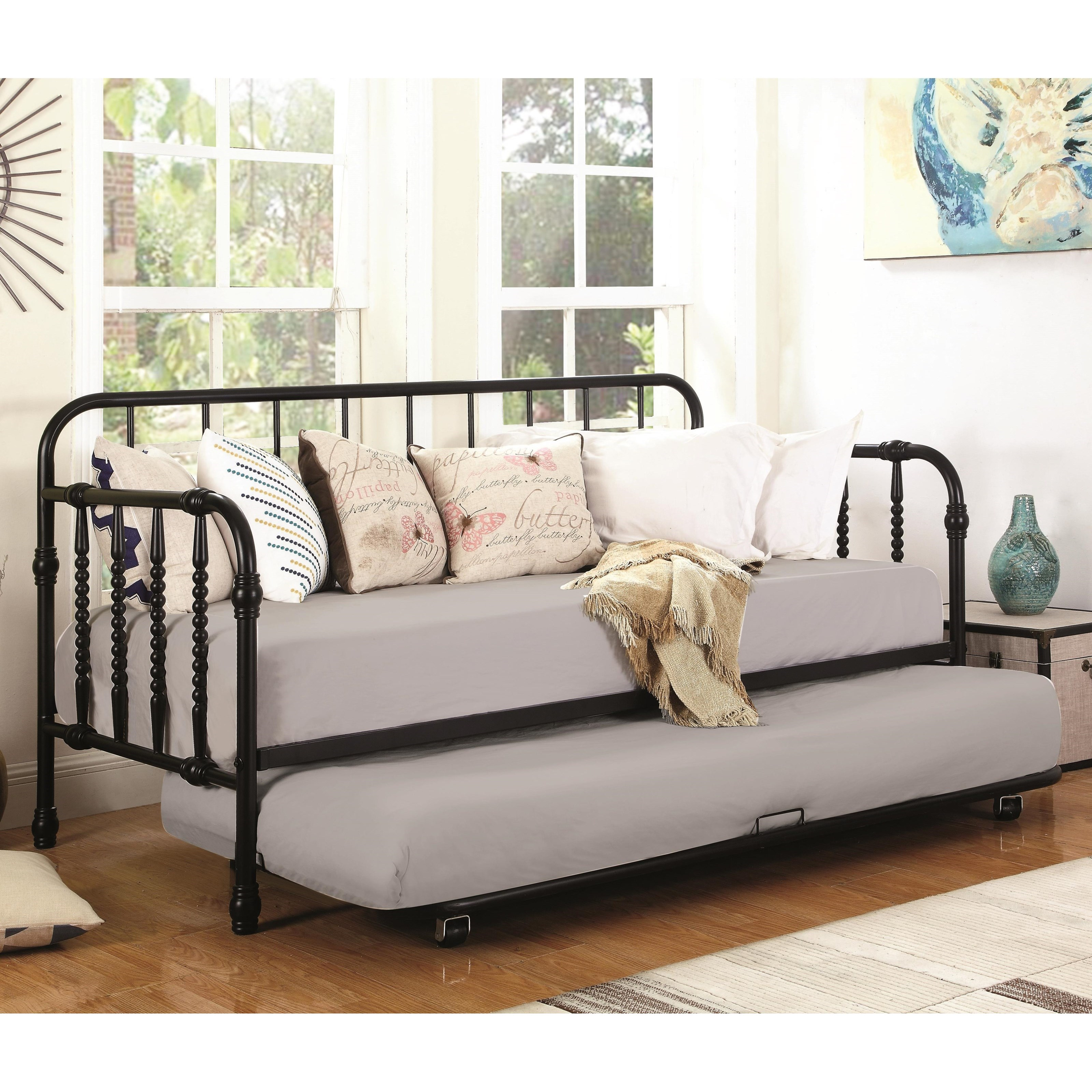 Daybeds by Coaster Daybed with Trundle by Coaster at Northeast Factory Direct