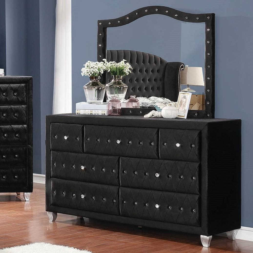 Deanna Dresser and Mirror Set by Coaster at Rife's Home Furniture